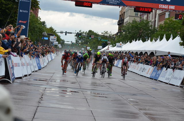 Wet Sprint Finish